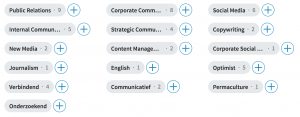 competenties van communityleden in LinkedIn